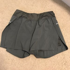 Avia athletic shorts w/ built-in spandex